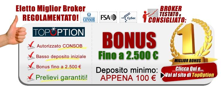 trading binario bonus senza deposito